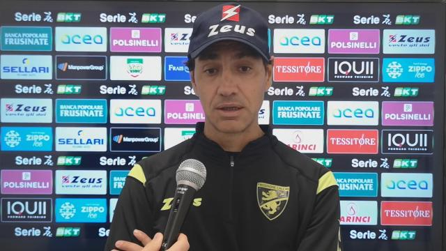 Frosinone-Chievo 3-2, la voce di Nesta post gara
