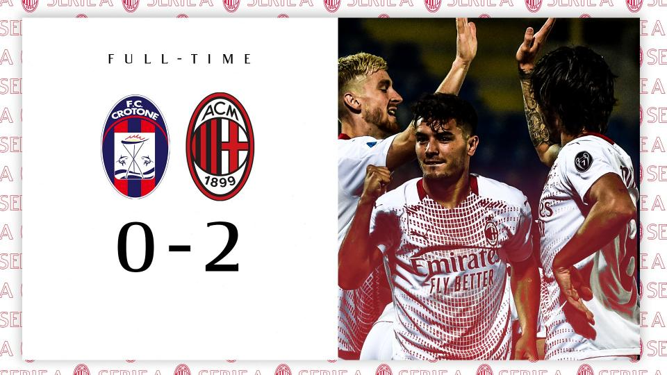 Crotone-Milan 0-2, highlights
