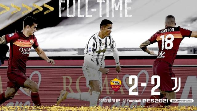 Roma-Juventus 2-2, highlights