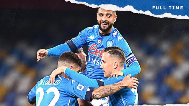 Napoli-Bologna 3-1, highlights