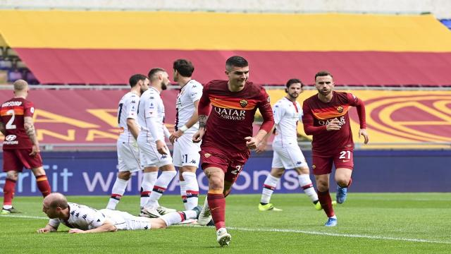 Roma-Genoa 1-0, highlights
