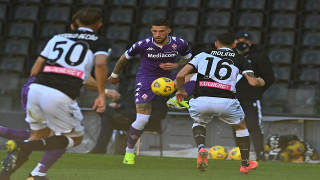 Udinese-Fiorentina 1-0, highlights