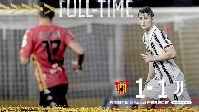 Benevento-Juventus 1-1, highlights