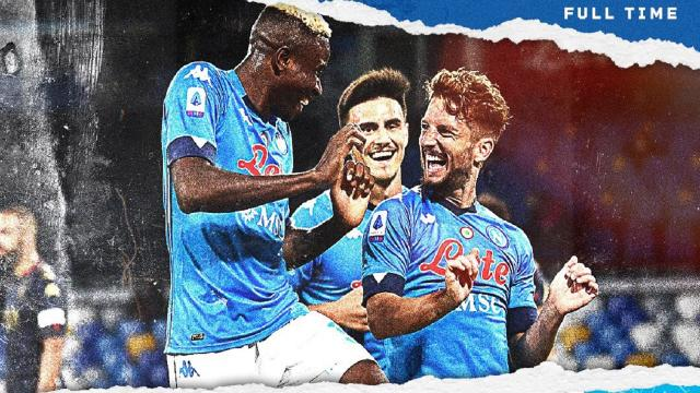 Napoli-Genoa 6-0, highlights