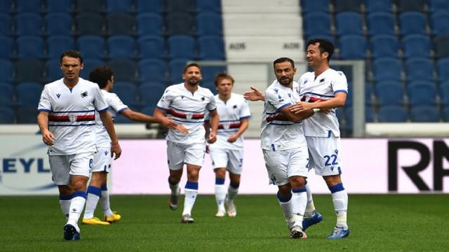 Atalanta-Sampdoria 1-3, highlights