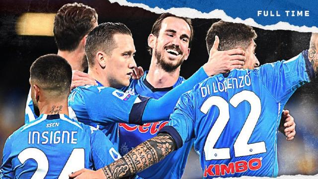 Napoli-Benevento 2-0, highlights