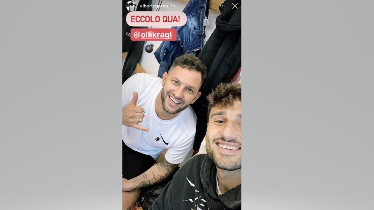 Foto da Instagram Alberto Gerbo