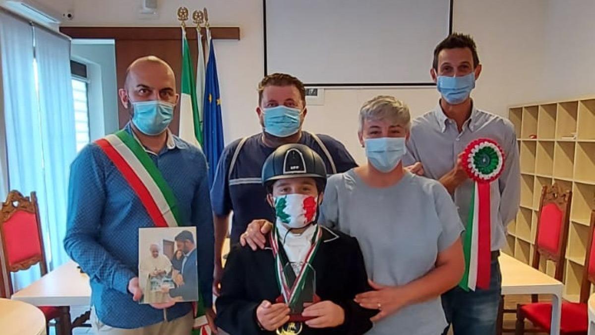 Equitazione, per la giovane castoranese Cinciripini tre ori ai Campionati Italiani Ludici
