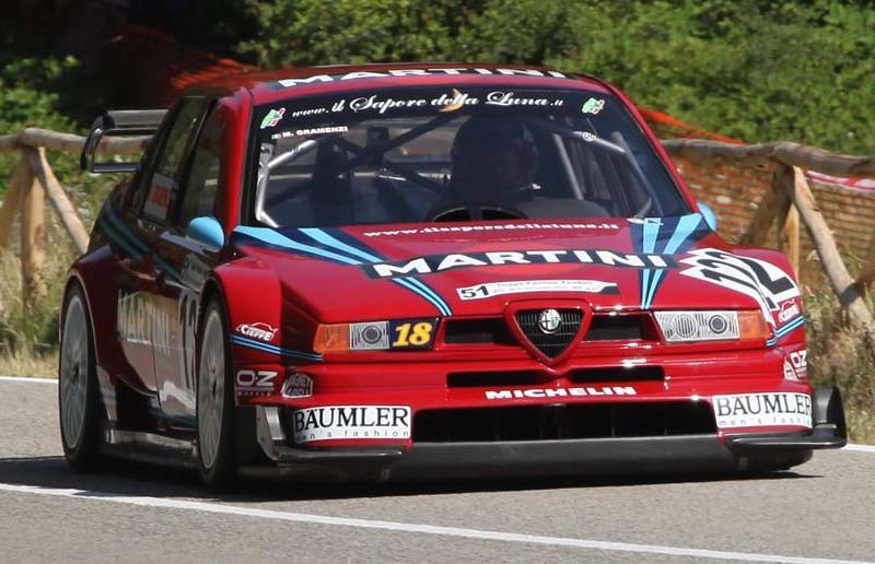 Marco Gramenzi su Alfa Romeo 155 v6 TI DTM