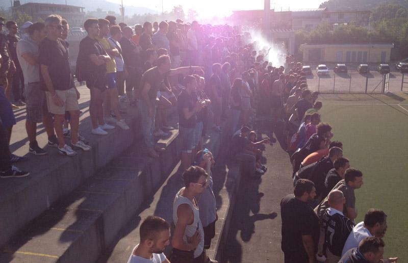 I tifosi sugli spalti del Città di Ascoli