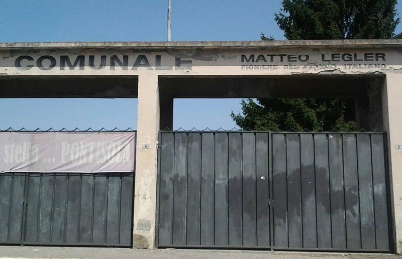 Ingresso stadio 'Matteo Legler'