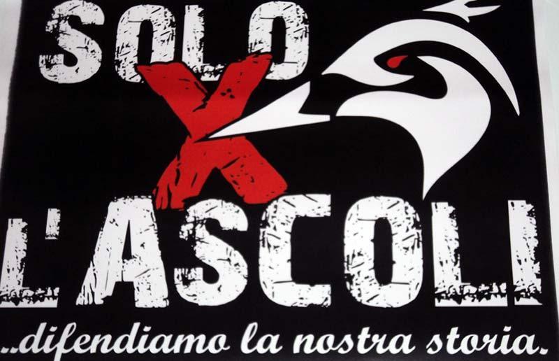 """LOGO """"SOLO X L'ASCOLI"""""""