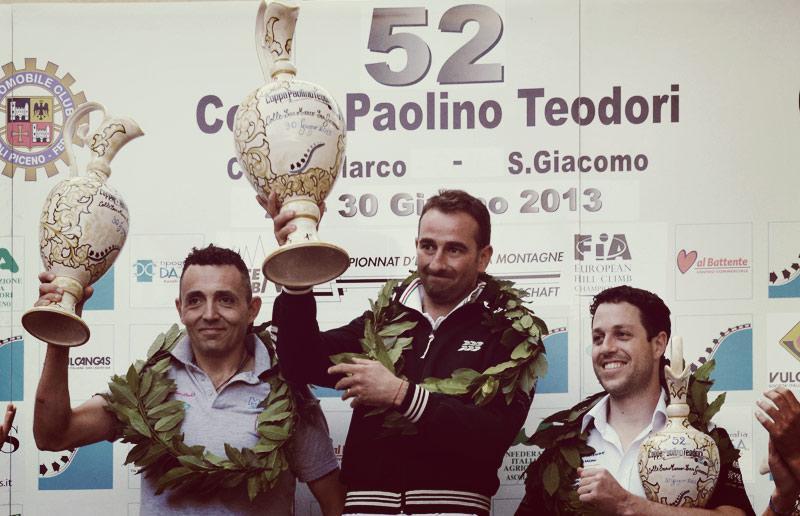 paolino teodori 2013 - il podio
