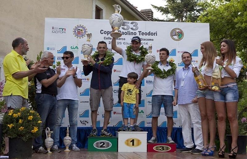 podio coppa teodori 2014