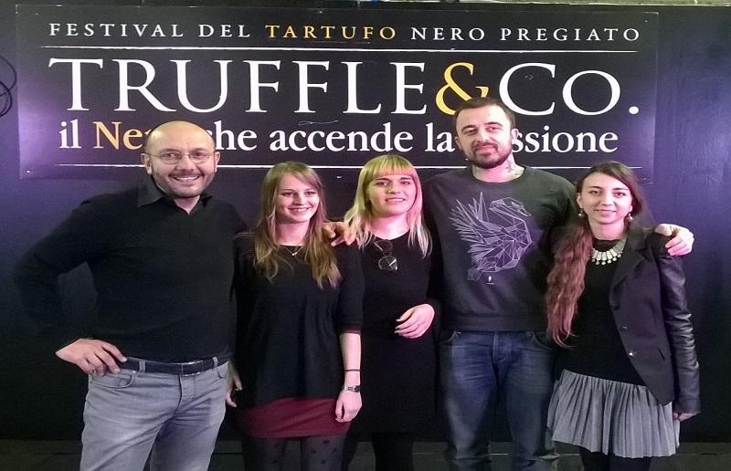 chef Rubio con lo staff