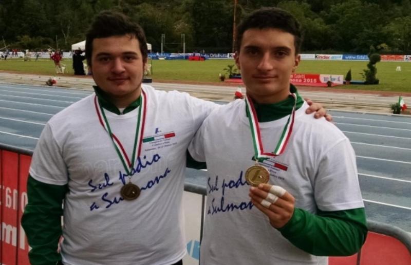 Hazisllari e Olivieri con bronzo e oro