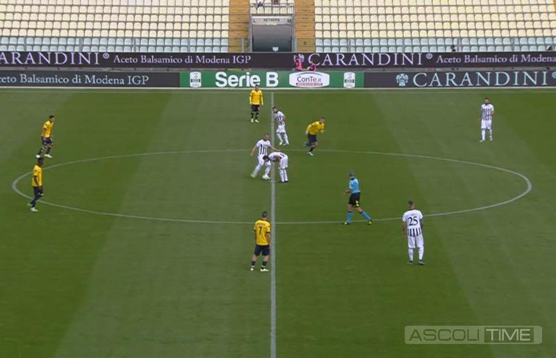 Modena Ascoli 2-1