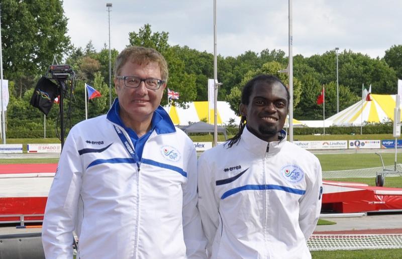 Mauro Ficerai e Ruud Koutiki