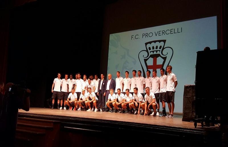 Presentazione Pro Vercelli