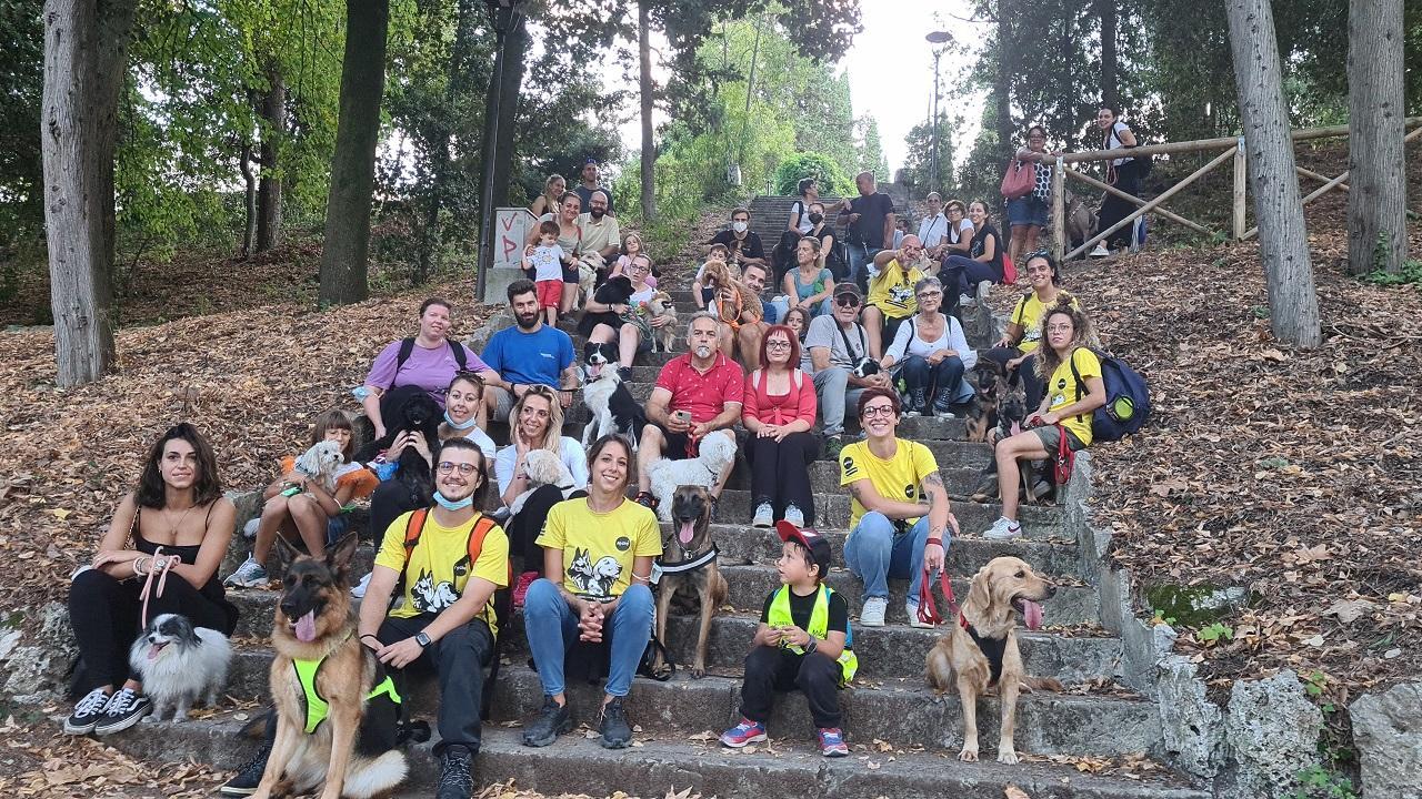 Ascoli Piceno, con la camminata a 6 zampe si è concluso il progetto ''Salute e benessere''