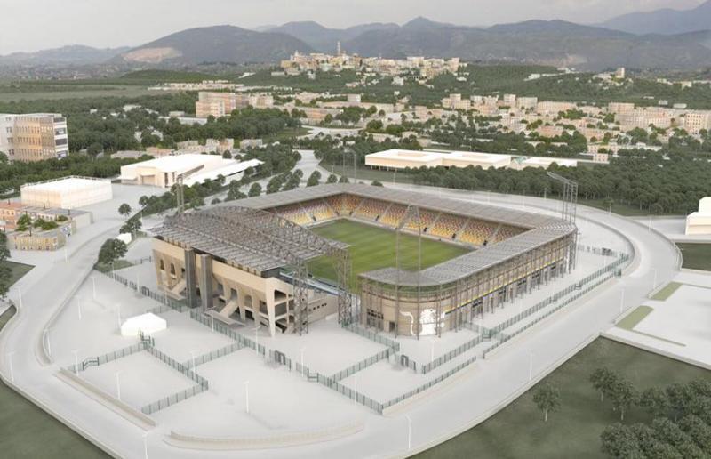 Nuovo stadio ''Benito Stirpe''