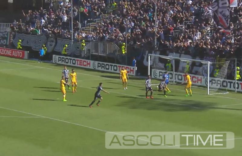 Ascoli-Frosinone 1-1