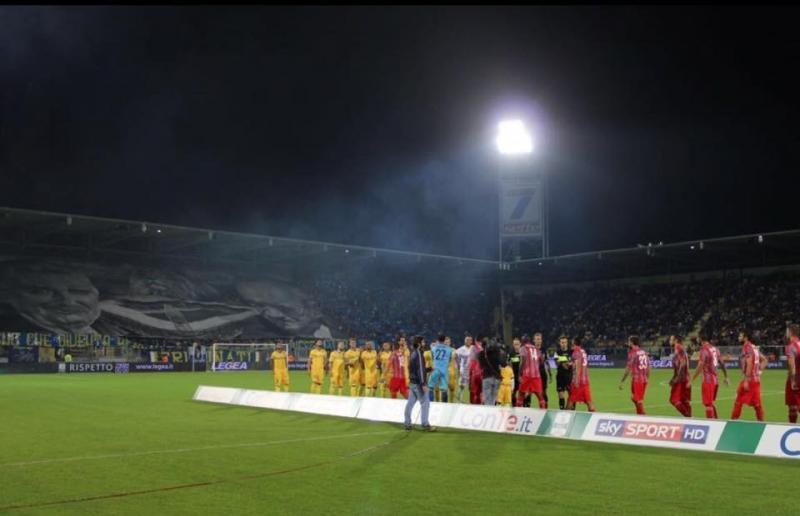 Foto da Facebook Frosinone Calcio