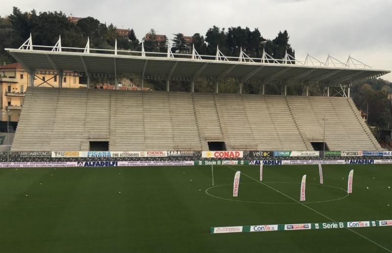 Tribuna Est stadio ''Del Duca''