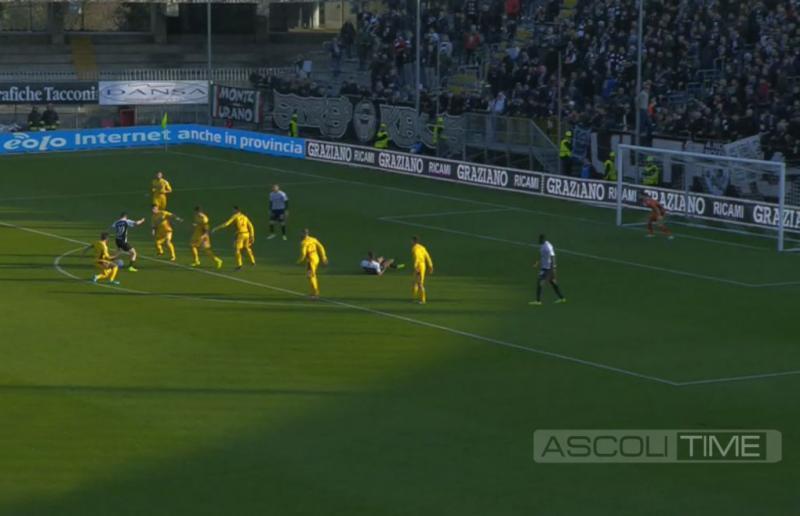 Ascoli-Cittadella 1-2