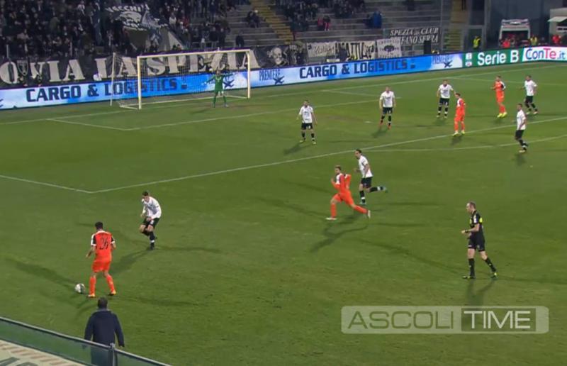 Spezia-Ascoli 1-1