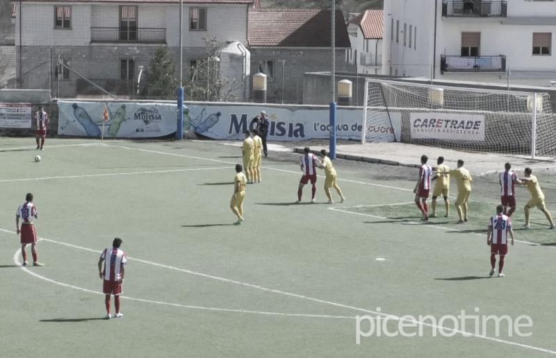Olympia Agnonese-Vis Pesaro 1-1