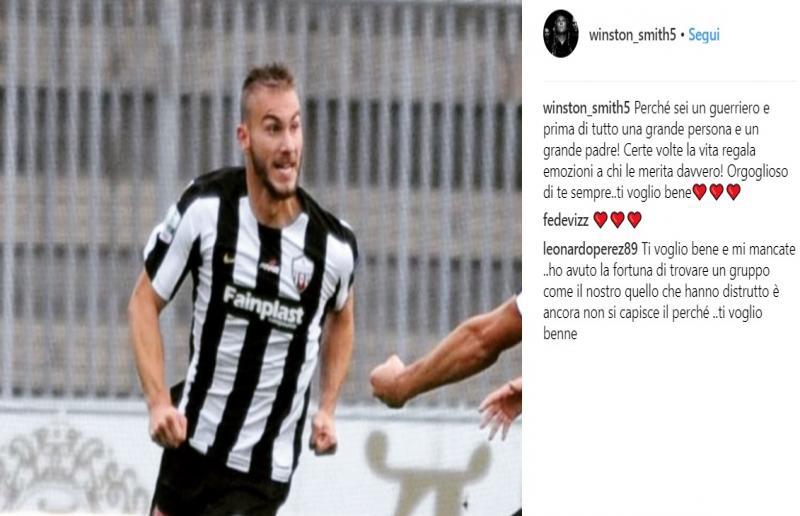 Foto da Instagram Luigi Giorgi