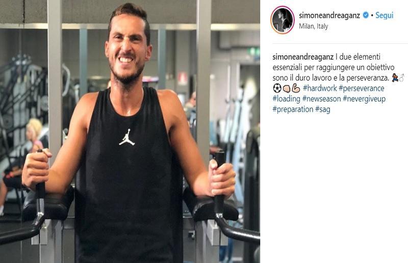 Foto da Instagram Simoneandrea Ganz