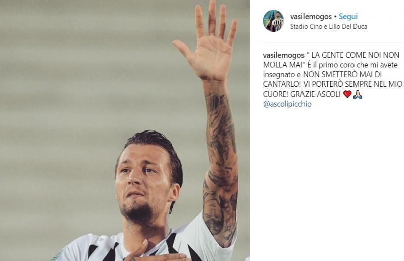 Foto da Instagram Vasile Mogos