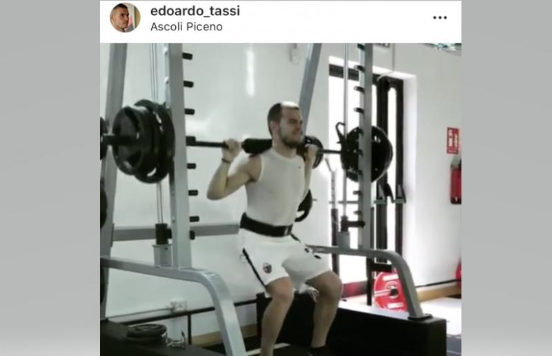 Foto da Instagram Edoardo Tassi
