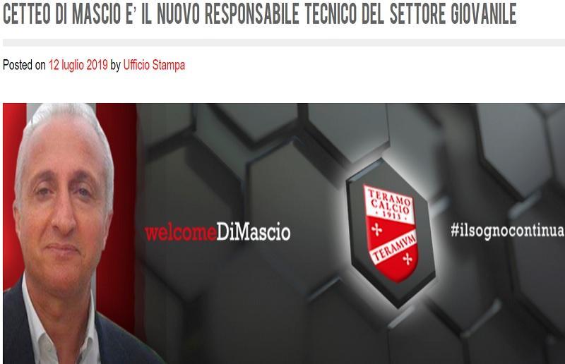 Foto da Teramocalcio.net