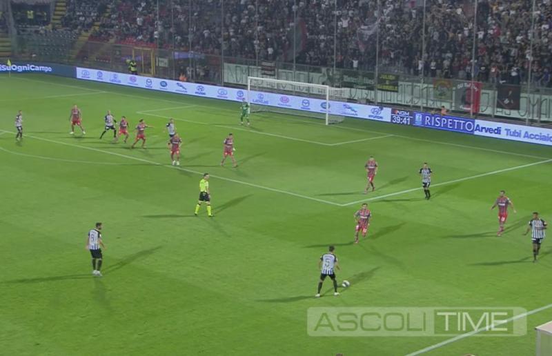 Cremonese-Ascoli 1-0