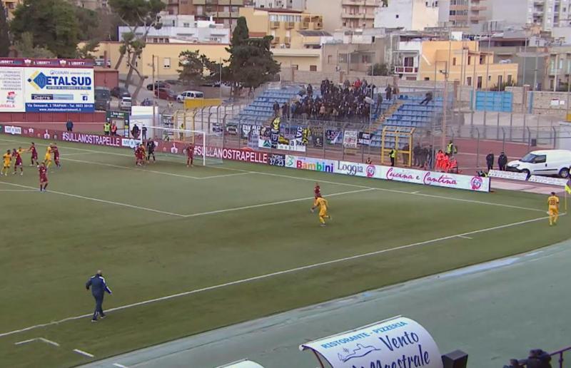 Trapani-Ascoli 3-1