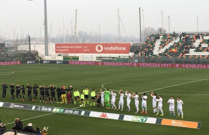 Venezia-Trapani, stadio ''Penzo''