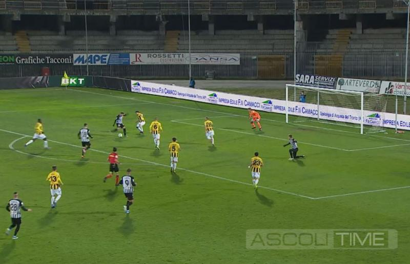 Ascoli-Juve Stabia 2-2