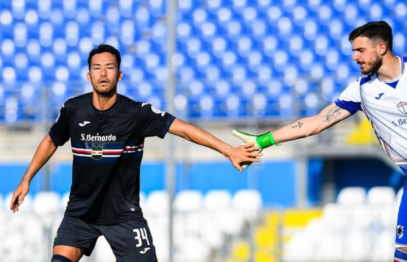 Foto da Twitter Sampdoria