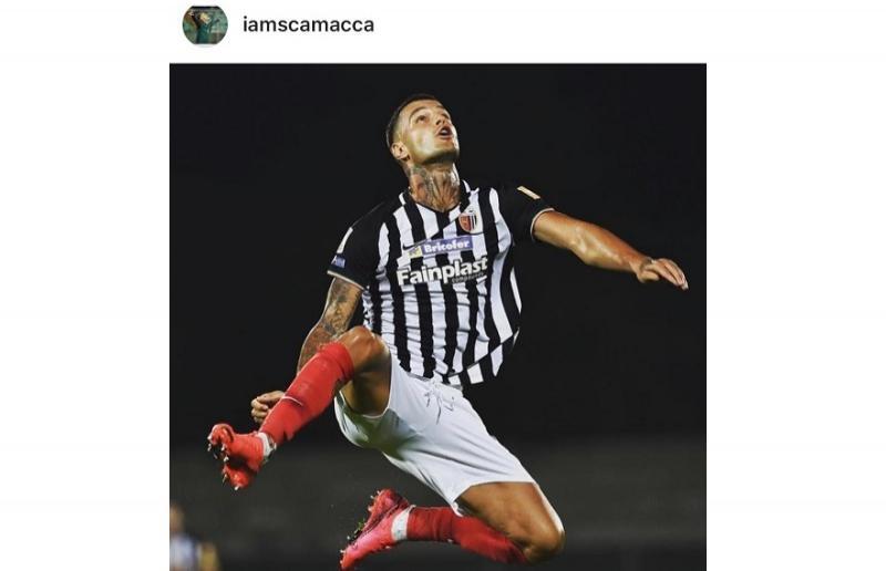Foto da Instagram Gianluca Scamacca