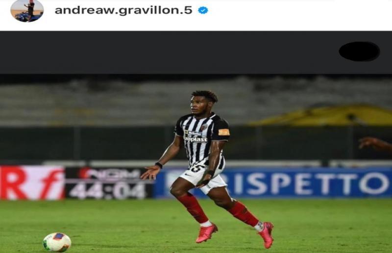 Foto da Instagram Andreaw Gravillon
