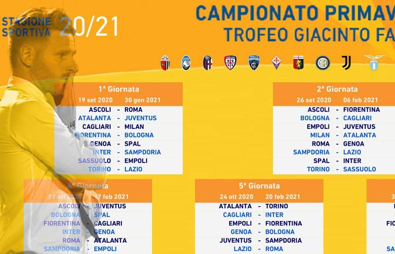 Calendario Ascoli 2021 Ascoli Calcio, definito calendario campionato Primavera 1. Abascal