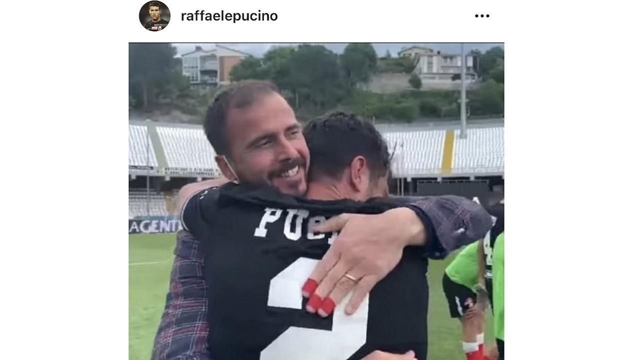 """Ascoli Calcio, Pucino: """"Orgoglioso di aver difeso questi colori. In tanti speravano che non ce la facessimo"""""""