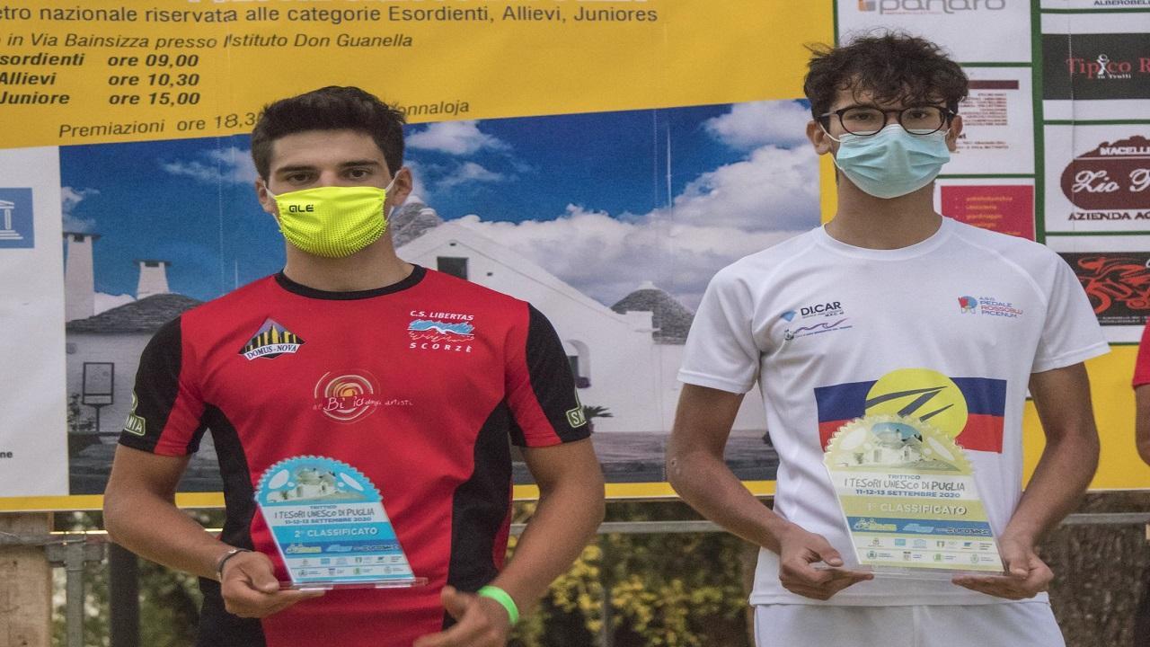 Ciclismo: Pedale Rossoblu Picenum e Truentum, trionfo a cronometro di Menghini in Puglia