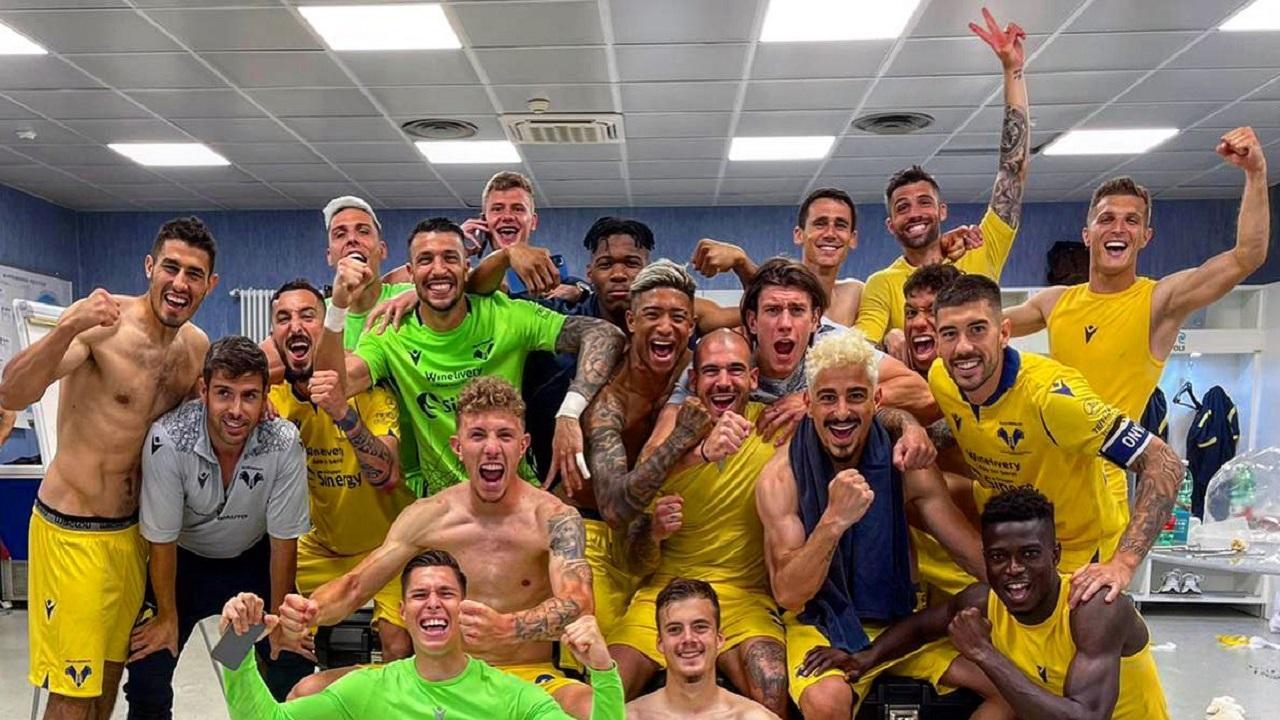 Foto da Twitter ufficiale Verona
