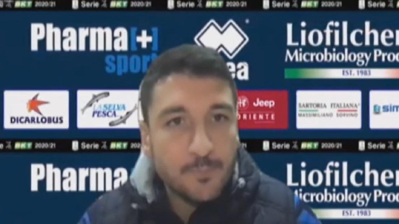 Ascoli-Pescara 0-2, le voci di Antei e Bocchetti post gara