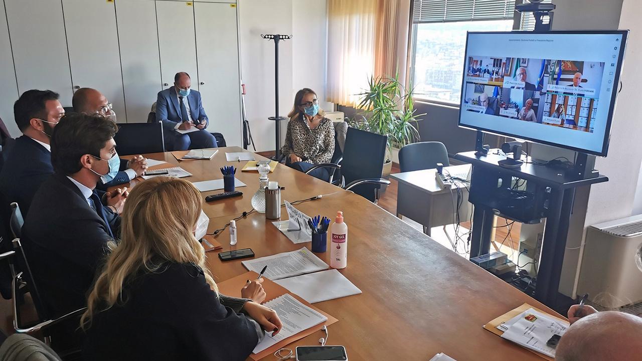 Regione Marche, riunione con prefetti per esaminare situazione emergenza sanitaria