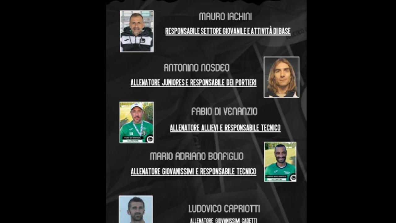 Atletico Ascoli, definito l'organigramma del settore giovanile coordinato da Iachini